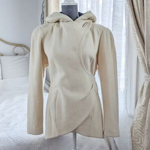 Thierry Mugler VTG Activ wool short coat